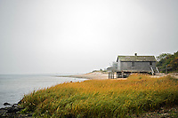 Beach shack, Chatham, Cape Cod, MA, Massachusetts, USA