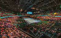Rotterdam, The Netherlands, 16 Februari 2020, ABNAMRO World Tennis Tournament, Ahoy,<br /> Mens Single Final: Gaël Monfils (FRA) vs Felix Auger-Aliassime (CAN), overal vieuw <br /> Photo: www.tennisimages.com