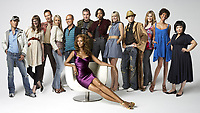 Hosted by international fashion icon and legendary supermodel Iman, Slice's Project Runway Canada finds 12 designer hopefuls competing for the chance to become the next big name in Canadian fashion. Front: Iman. Back L-R: Steven Wong, Marie Genevieve Cyr, Darin Hartmann, Sophia Duncan Lincoln Cheung, Evan Biddell, Shernett Swaby, Michael Hatley, Lucian Matis, Megan Fischer, Kendra Francis, Carlie Wong. (CNW Group/Alliance Atlantis Communications Inc.)