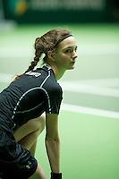Rotterdam, The Netherlands, Februari 9, 2016,  ABNAMROWTT, Ball-Girl<br /> Photo: Tennisimages/Henk Koster