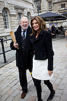 Colin McDowell and Natalie Massenet