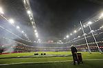 Atmosphere building at the Millennium Stadium.<br /> 2015 RBS 6 Nations<br /> Wales v England<br /> Millennium Stadium <br /> 06.02.15<br /> ©Steve Pope -SPORTINGWALES