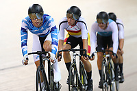 Corbin Strong and Aaron Gate compete in the Elite Men Omnium points race 30km during the 2020 Vantage Elite and U19 Track Cycling National Championships at the Avantidrome in Cambridge, New Zealand on Friday, 24 January 2020. ( Mandatory Photo Credit: Dianne Manson )