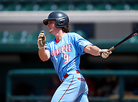 Seabreeze Sandcrabs Canyon Brown (9) during the 42nd Annual FACA All-Star Baseball Classic on June 6, 2021 at Joker Marchant Stadium in Lakeland, Florida.  (Mike Janes/Four Seam Images)