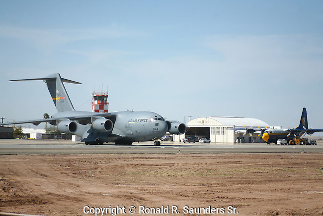 The C-17 Globemaster III is the newest,most flexible cargo aircraft to enter the airlift force.It is capable of rapid strategic delivery of troops and all types of cargo to main operating bases or directly to forward bases in the deployment area.<br /> (27)