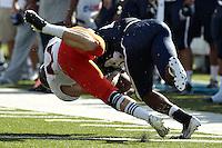HOUSTON, TX - OCTOBER 13, 2012: The University of Texas at San Antonio Roadrunners versus The Rice University Owls Football at Rice Stadium. (Photo by Jeff Huehn)