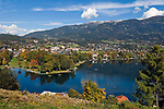 Oesterreich, Kaernten, Millstaetter See, Seeboden: am Westufer des Sees | Austria, Carinthia, Lake Millstatt, Seeboden: at the West banks