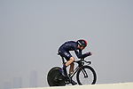 Luke Rowe (WAL) Ineos Grenadiers during Stage 2 of the 2021 UAE Tour an individual time trial running 13km around Al Hudayriyat Island, Abu Dhabi, UAE. 22nd February 2021.  <br /> Picture: Eoin Clarke | Cyclefile<br /> <br /> All photos usage must carry mandatory copyright credit (© Cyclefile | Eoin Clarke)