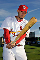 Mar 01, 2010; Jupiter, FL, USA; St. Louis Cardinals infielder Felipe Lopez (8) during  photoday at Roger Dean Stadium. Mandatory Credit: Tomasso De Rosa/ Four Seam Images