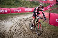 Laurens Sweeck (BEL/Pauwels Sauzen-Bingoal)<br /> <br /> 2021 UCI CX World Cup Overijse (BEL)<br /> Vlaamse Druivencross<br /> <br /> Men's Race<br /> <br /> ©kramon