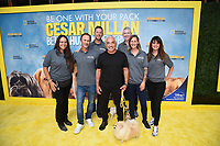 """LOS ANGELES - JULY 30: Cesar Millan and training team attend the premiere event for National Geographic's """"Cesar Millan: Better Human, Better Dog"""" at the Westfield Century City Mall Atrium on July 30, 2021 in Los Angeles, California. (Photo by Stewart Cook/National Geographic/PictureGroup)"""