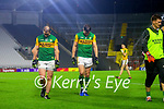 Stephen O'Brien, Kerry and David Moran, Kerry after the Munster GAA Football Senior Championship Semi-Final match between Cork and Kerry at Páirc Uí Chaoimh in Cork.