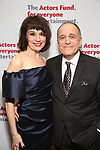 Beth Leavel and Adam Heller attends The Actors Fund Annual Gala at Marriott Marquis on April 29, 2019  in New York City.
