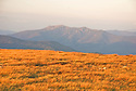 Franconia Ridge looms large in the landscape from many White Mountain summits.