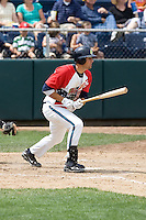 July 6, 2008:  Nate Tenbrink of the Everett AquaSox at-bat against the Yakima Bears during a Northwest League game at Everett Memorial Stadium in Everett, Washington.