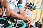 Jhoan Esteban Chaves (COL) Team BikeExchange at sign on before the start of Stage 4 of the 2021 Tour de France, running 150.4km from Redon to Fougeres, France. 29th June 2021.  <br /> Picture: A.S.O./Charly Lopez   Cyclefile<br /> <br /> All photos usage must carry mandatory copyright credit (© Cyclefile   A.S.O./Charly Lopez)