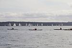Shipwrights Regatta, 30th annual, February 27 2021, Port Townsend, Puget Sound, Salish Sea, Olympic Peninsula, Washington State, Pacific Northwest, USA,