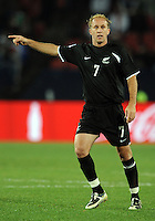 Simon Elliott of New Zealand. Iraq and New Zealand tied 0-0 during the FIFA Confederations Cup at Ellis Park Stadium in Johannesburg, South Africa on June 20, 2009..