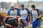 Connacht forwards Mike Kearney, Aly Muldowney and Eoghan Masterson.<br /> RaboPro 12<br /> Newport Gwent Dragons v Connacht<br /> Rodney Parade<br /> 23.03.14<br /> <br /> ©Steve Pope-SPORTINGWALES