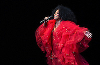 Diana Ross in concert at Wolf Trap August 2013