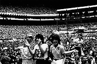 Peter Tosh au Stade Olympique<br /> , le 3 aout 1984<br /> <br />  - PHOTO D'ARCHIVE :  Agence Quebec Presse