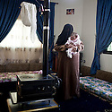 """Lebanon - Jdeideh - Asma is 30 year old and she escaped from Al Qusair with her family after the Syrian Army killed one of her kids. """"One day they knocked at the door, when I opened I was carrying my baby in my arms, they asked me where my husband was and I told them he was not in, so one of the soldiers took out a knife from his pocket and cut my baby's throat who died in my arms"""""""