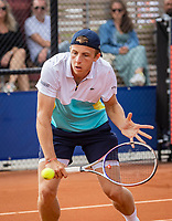 Amstelveen, Netherlands, 1 August 2020, NTC, National Tennis Center, National Tennis Championships, Men's Doubles final:  Tallon Griekspoor (NED)<br /> Photo: Henk Koster/tennisimages.com