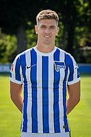 17th August 2020; Berlin, Germany. Hertha Berlin official Bundesliga season portraits, season 2020-21:  Krzysztof Piatek Hertha BSC, No.07