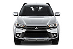 Car photography straight front view of a 2019 Mitsubishi Outlander-Sport GT 5 Door SUV Front View