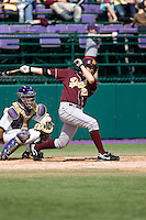 April 5, 2009: Arizona State Sun Devils shortstop Jared McDonald at-bat during a PAC-10 game against the University of Washington at Husky Ballpark in Seattle, Washington.