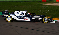 #10 Pierre Gasly Alpha Tauri Toro Rosso Honda. Formula 1 World championship 2021, Shakedown the new car for the 2021 season by Alpha Tauri, Imola 24 February 2021.<br /> Photo Federico Basile FB PhotoImages/Insidefoto