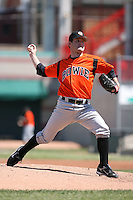 April 22nd, 2007:  Beau Hale of the Bowie Baysox, Class-AA affiliate of the Baltimore Orioles at Jerry Uht Park in Erie, PA.  Photo by:  Mike Janes/Four Seam Images