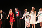 "Curtain Call: Grant Aleksander - Cynthia Watros - Michael O'Leary - Tina Sloan - Emma Gilliland - Meredith Taylor - Guiding Light's Michael O'Leary author of ""Breathing Under Dirt"" - full play - had its world premier on August 13 and 14, 2016 at the Ella Fitzgerald Performing Arts Center, University of Maryland Eastern Shore, Princess Anne, Maryland  (Photo by Sue Coflin/Max Photos)"