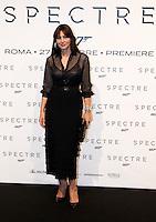 L'attrice Monica Bellucci posa sul red carpet per la premiere del film 'Spectre' a Roma, 27 ottobre 2015 .<br /> Italian actress  Monica Bellucci poses on the red carpet for the premiere of the movie 'Spectre' premiere in Rome, 27 October 2015 .<br /> UPDATE IMAGES PRESS/Isabella Bonotto<br /> <br /> *** ITALY AND GERMANY OUT  ***
