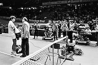 1985, ABN WTT, Schapers wordt geinterviewd door Mart Smeets