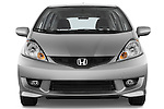 Straight front view of a 2009 Honda Fit Sport