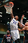 Reno Bighorns' Mickell Gladness takes a shot during a D-League basketball game against the Bakersfield Jam in Reno, Nev., on Tuesday, Jan. 14, 2014. The Bighorns won 93-85.<br /> Photo by Cathleen Allison