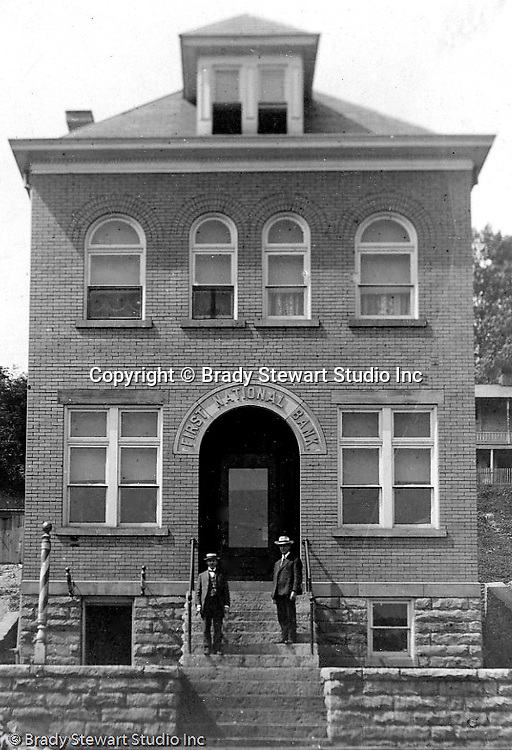 View the First National Bank of McKeesport building. Homer Stewart was hired to be the Treasurer of the bank in 1903.  Homer later was hired as the treasurer of First Guarantee Trust which is now PNC (Pittsburgh National Bank)