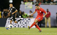 CHICAGO, ILLINOIS - JULY 07: Daniel Lovitz #16 during the 2019 CONCACAF Gold Cup Final match between the United States and Mexico at Soldier Field on July 07, 2019 in Chicago, Illinois.