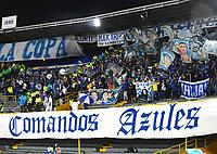BOGOTÁ- COLOMBIA, 23-10-2021:Millonarios y Atlético Junior en partido por la fecha 15 como parte de la Liga BetPlay DIMAYOR II 2021 jugado en el estadio Nemesio Camacho El Campin de la ciudad de Bogotá. / Millonarios  and Atletico Junior in match for the date 15 as part of the BetPlay DIMAYOR League II 2021 played at Nemesio Camacho El Campin stadium in Bogota city. Photo: VizzorImage / Samuel Norato / Contribuidor