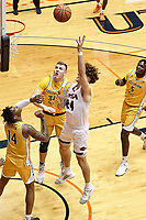 SAN ANTONIO, TX - JANUARY 22, 2021: The University of Texas at San Antonio Roadrunners defeat the University of Southern Mississippi Golden Eagles 70-64 at the Historic UTSA Convocation Center (Photo by Jeff Huehn).