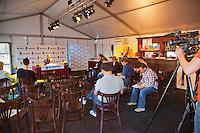 04-09-12, Netherlands, Alphen aan den Rijn, Tennis, Pressconference Daviscup Nl-Swiss,
