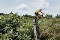 yellow jersey Mathieu van der Poel (NED/Alpecin Fenix)<br /> <br /> Stage 7 from Vierzon to Le Creusot (249.1km)<br /> 108th Tour de France 2021 (2.UWT)<br /> <br /> ©kramon
