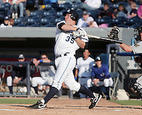 May 29, 2009:  Billy Nowlin of the West Michigan Whitecaps during a game at Fifth Third Ballpark in Comstock Park, FL.  The White Caps are the Low-A affiliate of the Detroit Tigers.  Photo By Emily Jones/Four Seam Images