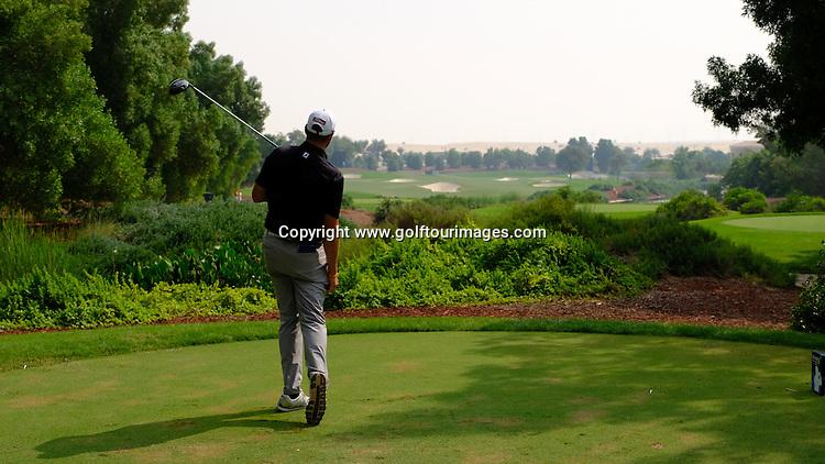 Matthew SOUTHGATE (ENG) during the final round of the 2015 DPWorld Tour Championship at Jumeirah Golf Estates, Dubai, UAE.. Picture Stuart Adams, www.golftourimages.com: 11/19/16