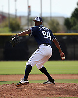 Edwuin Bencomo - San Diego Padres 2019 spring training (Bill Mitchell)