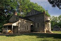 AJ4324, Valley Forge, Washington's Headquarters, Valley Forge National Historical Park, Pennsylvania, Washington's Headquarters at Valley Forge Nat'l Historical Park in the state of Pennsylvania.