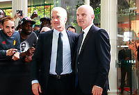 DIDIER DESCHAMPS & GUY STEPHAN - 25eme Ceremonie des Trophees UNFP au Pavillon Gabriel