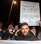 Nacho Novo with a rat at the front door of Ibrox