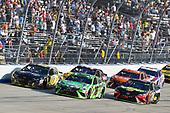 #18: Kyle Busch, Joe Gibbs Racing, Toyota Camry Interstate Batteries and #78: Martin Truex Jr., Furniture Row Racing, Toyota Camry 5-hour ENERGY/Bass Pro Shops